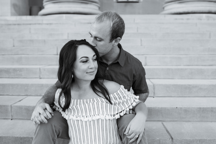 Kansas City Engagement Photo